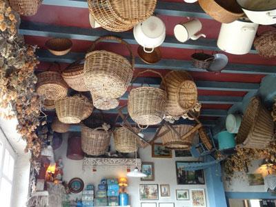 T'Kasteelhof décor du plafond