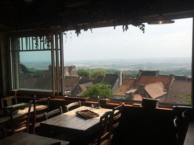 T'Kasteelhof vue panoramique sur la région.