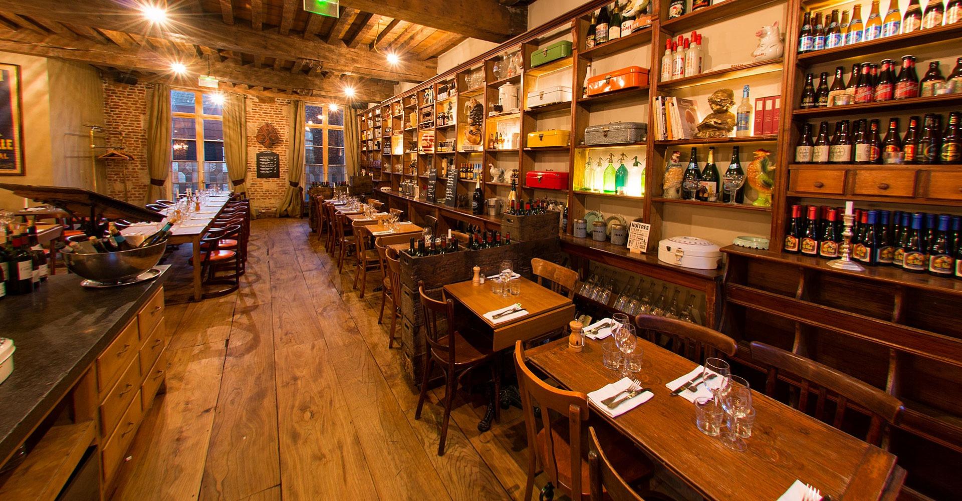 Le Barbue d'Anvers : intérieur